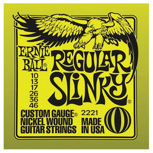 струны Ernie Ball 2221 Nickel Regular Slinky