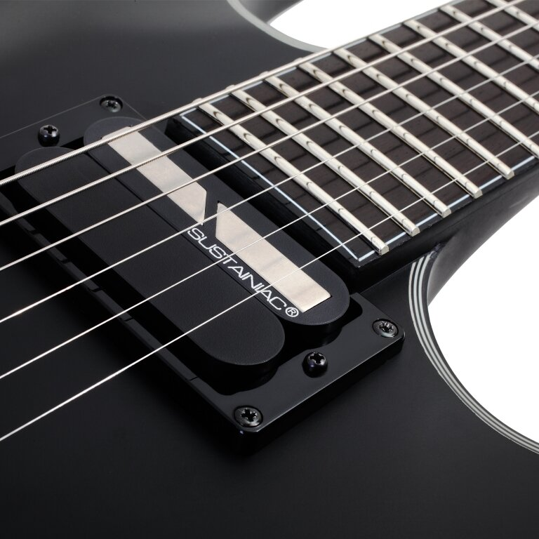 электрогитара Schecter Blackjack SLS C-1 Sustainiac Left-Handed Satin Black