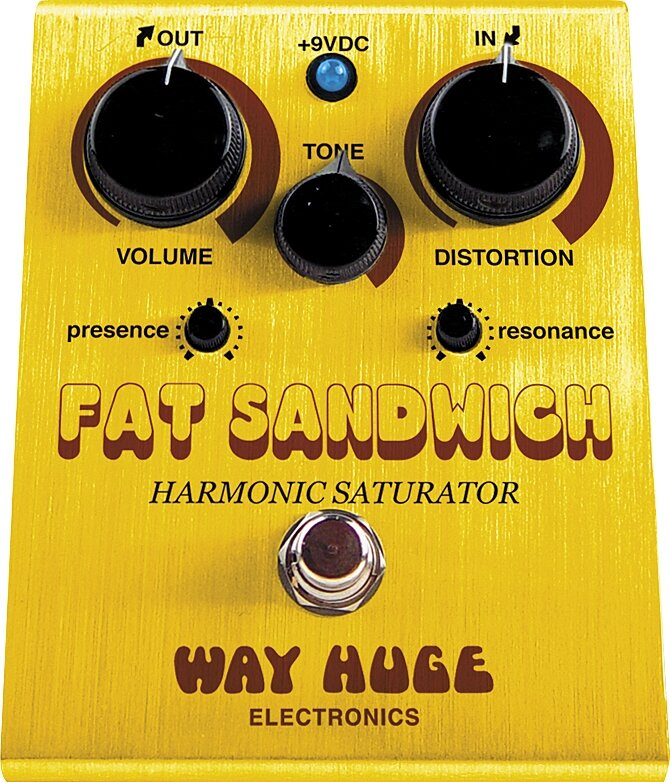 Way Huge Electronics WHE301 Fat Sandwich Harmonic Saturator Distortion