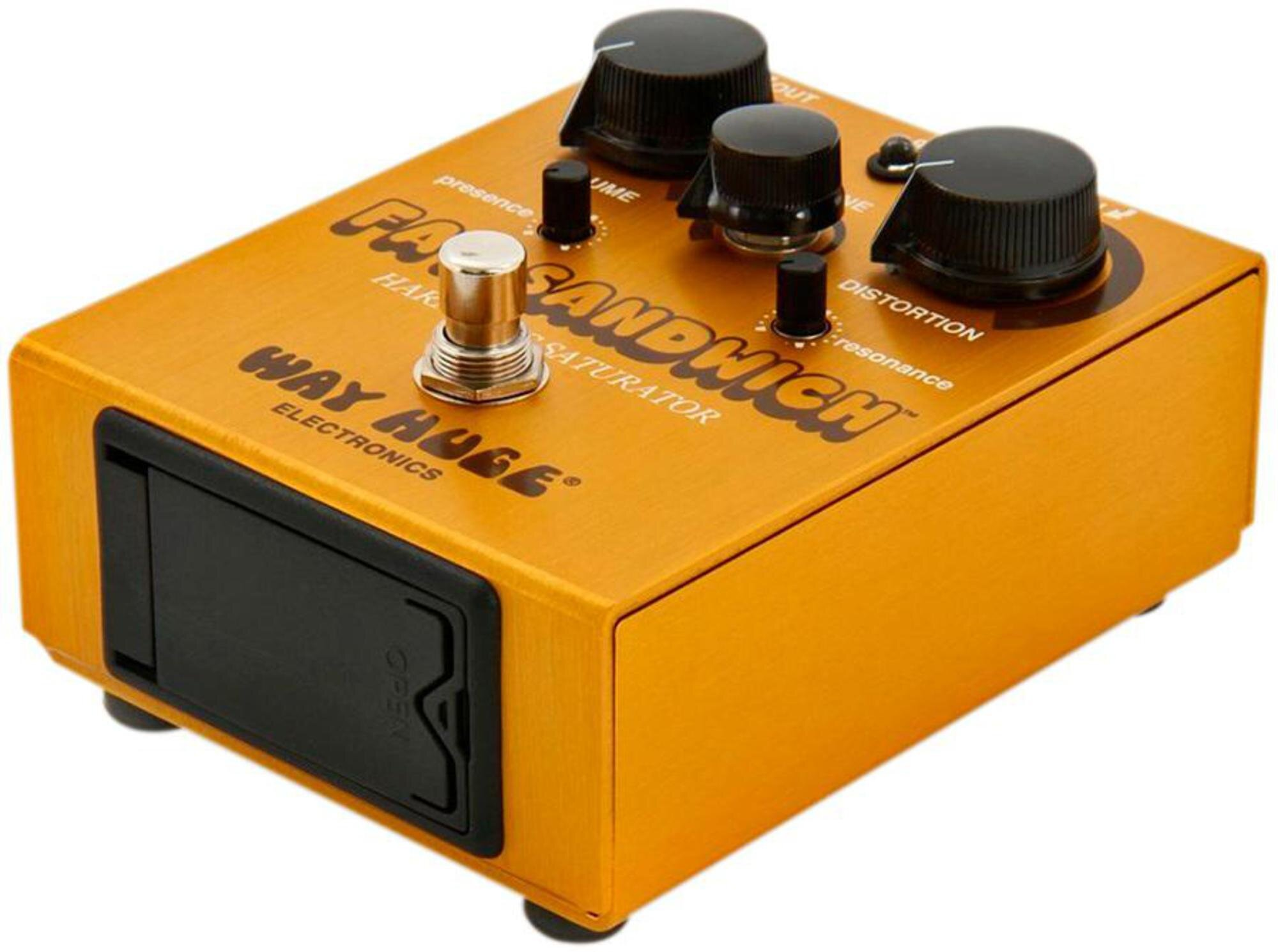 продажа Way Huge Electronics WHE301 FAT SANDWICH HARMONIC SATURATOR DISTORTION педаль дисторшн